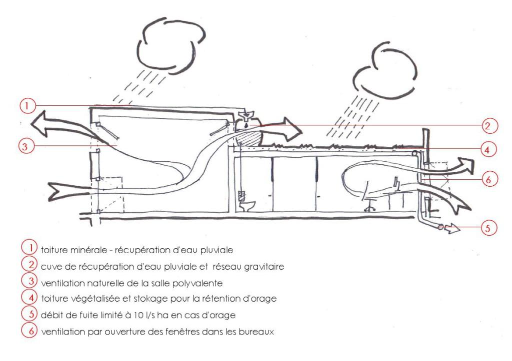 Coupe bioclimatique