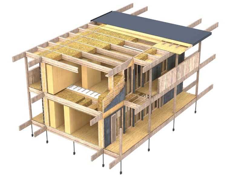 Maison passive en paille switch for Construction de maison en paille